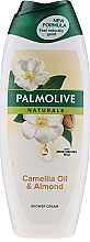 Fragrances, Perfumes, Cosmetics Shower Gel - Palmolive Naturals Camellia Oil & Almond Shower Gel
