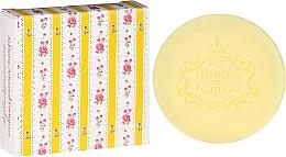 Fragrances, Perfumes, Cosmetics Natural Soap - Essencias De Portugal Yellow Chita Lemon Soap