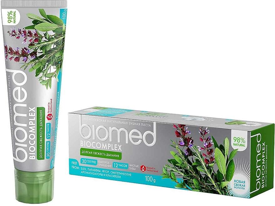 """Refreshing Toothpaste """"Bio Complex"""" - Biomed Biocomplex"""
