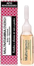 Fragrances, Perfumes, Cosmetics Multivitamin Hair Ampoules - Nuggela & Sule' Multivitamin Energy Ampoule