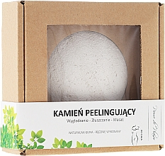 Fragrances, Perfumes, Cosmetics Natural Body Scrubbing Stone, white - Pierre de Plaisir Natural Scrubbing Stone Body