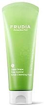 Fragrances, Perfumes, Cosmetics Sebo-Regulating Cleansing Scrub-Foam with Grape - Frudia Pore Control Green Grape Scrub Cleansing Foam