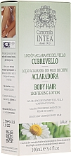 Fragrances, Perfumes, Cosmetics Body Hair Lightening Lotion with Chamomile Extract - Intea Body Hair Lightening Spray With Natural Camomile Extract