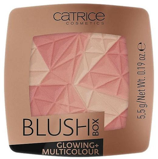 Face Blush - Catrice Blush Box Glowing + Multicolour