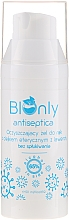 Fragrances, Perfumes, Cosmetics Antibacterial Hand Gel with Lavender Essential Oil - BIOnly Antiseptica Antibacterial Gel