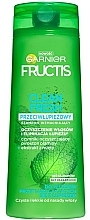 Fragrances, Perfumes, Cosmetics Anti-Dandruff Hair Shampoo - Garnier New Fructis Clean Fresh Shampoo