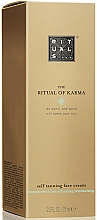 Fragrances, Perfumes, Cosmetics Face Tan Cream - Rituals The Ritual of Karma Self Tanning Face Cream