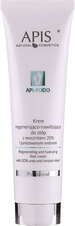Regenerating & Moisturizing Foot Cream - Apis Professional Api-Podo 20%