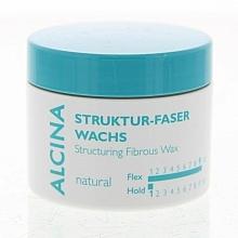 Fragrances, Perfumes, Cosmetics Natural Hol Fibrous Wax - Alcina Natural Struktur Faser Wachs