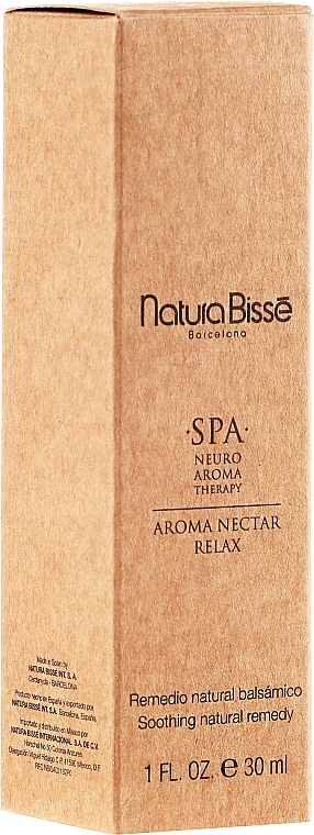 Relaxing Aroma Oil - Natura Bisse Spa Neuro-Aromatherapy Aroma Nectar Relax — photo N2