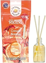 """Fragrances, Perfumes, Cosmetics Reed Diffuser """"Cinnamon and Orange"""" - La Casa de Los Aromas Mikado Reed Diffuser"""