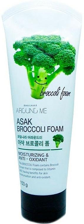 Cleansing Broccoli Extract Foam - Welcos Around Me Broccoli Foam