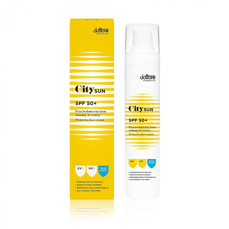 Facial Sun Cream SPF 50+ - Dottore City SUN SPF 50+ — photo N1