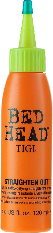 Thermo Active Smoothing Cream - Tigi Bed Head Straighten Out Straightening Cream