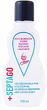 Fragrances, Perfumes, Cosmetics Antibacterial Hand Liquid with Mint Scent - Septago Gel