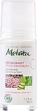 Fragrances, Perfumes, Cosmetics Sensitive Skin Deodorant - Melvita Body Care Deodorant Sensetive Skin