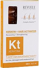 Fragrances, Perfumes, Cosmetics Hair Activator - Revuele Keratin+ Ampoules Hair Restoration Activator