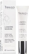 Fragrances, Perfumes, Cosmetics Dark Spot Corrector - Thalgo Lumiere Marine Targeted Dark Spot Corrector