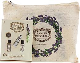 Fragrances, Perfumes, Cosmetics Set - Panier des Sens Travel set Relaxing Lavender (h/cr/30ml + sh/gel/50ml + b/lot/50ml)
