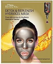 Fragrances, Perfumes, Cosmetics Hydrogel Face Mask - 7th Heaven Renew You Detox Replenish Hydrogel Mask
