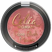 Fragrances, Perfumes, Cosmetics Face Blush - Celia Woman Rose Blush Mosaic