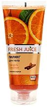 "Fragrances, Perfumes, Cosmetics Body Peeling ""Orange & Cinnamon"" - Fresh Juice Orange & Cinnamon"