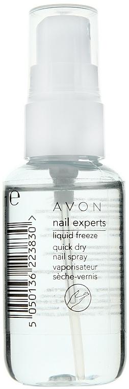 Quick Dry Nail Spray - Avon Nail Experts Liquid Freeze Quick Dry Nail Spray