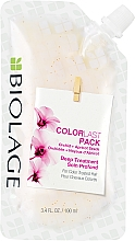 Fragrances, Perfumes, Cosmetics Color-Treated Hair Mask - Biolage Colorlast Mask Doy-Pack