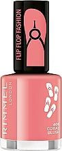 Fragrances, Perfumes, Cosmetics Nail Polish - Rimmel Flip Flop Fashion