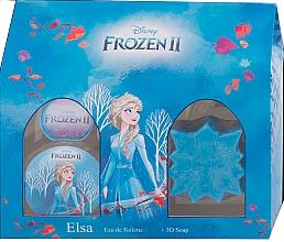 Fragrances, Perfumes, Cosmetics Disney Frozen II Elsa Gift Set - Set (edt/50ml + soap/50g)
