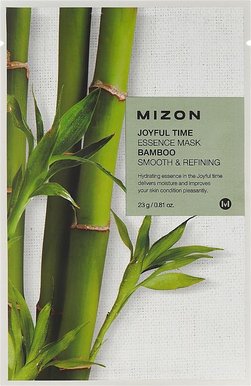 Bamboo Extract Sheet Mask - Mizon Joyful Time Essence Mask Bamboo