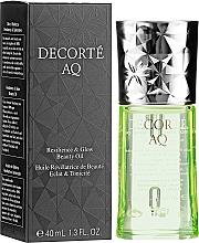 Fragrances, Perfumes, Cosmetics Facial Oil - Cosme Decorte AQ Botanical Pure Oil