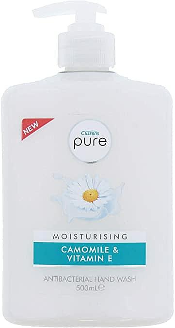 Chamomile & Vitamin E Moisturizing Hand Wash - Cussons Pure Hand Wash Moisturising Camomile — photo N1