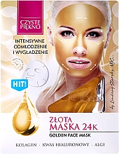 """Fragrances, Perfumes, Cosmetics Face Mask """"Gold"""" - Czyste Piekno Gold Face Mask"""