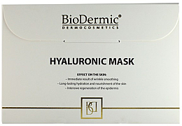 Fragrances, Perfumes, Cosmetics Hyaluronic Face Mask - Biodermic Hyaluronic Mask