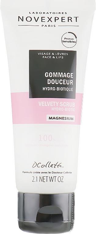 Velvet Hydrobiotic Face Scrub - Novexpert Magnesium Velvety Scrub Hydro-Biotic