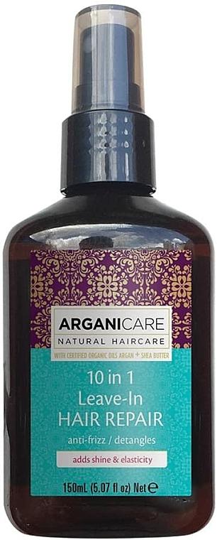 10-in-1 Hair Serum - Arganicare Shea Butter 10 in 1 Leave-In Hair Repair Anti-Frizz