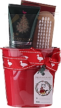 Fragrances, Perfumes, Cosmetics Set - Baylis & Harding Tin of Treats Set (h/cr/50ml + nail/brush + bath/salt/75g)