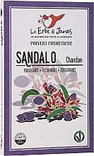 "Fragrances, Perfumes, Cosmetics Herbs Powder ""Sandal"" - Le Erbe di Janas Sandalo"
