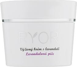 Fragrances, Perfumes, Cosmetics Nourishing Lavender Cream - Ryor Lavender Nourishing Face Cream