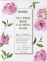 Fragrances, Perfumes, Cosmetics Soothing Face Mask - Petitfee&Koelf Tea Tree Rose Calming Mask