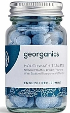 "Fragrances, Perfumes, Cosmetics Mouthwash Tablets ""English Peppermint"" - Georganics Natural Mouthwash Tablets English Peppermint"