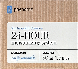 Fragrances, Perfumes, Cosmetics 24h Moisturizing Cream - Phenome 24 Hour Moisturizing System Cream