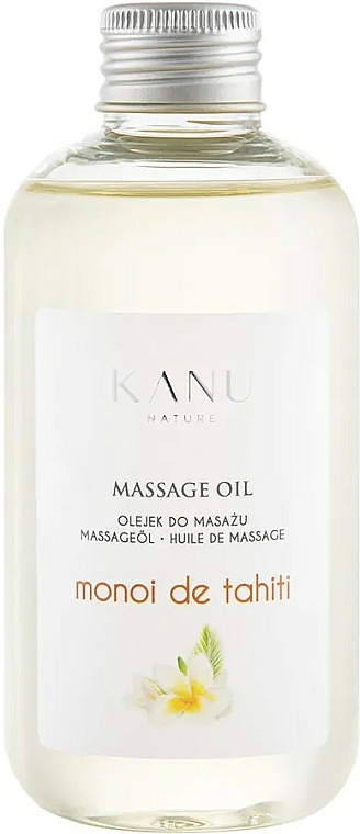 "Massage Oil ""Monoi de Tahiti"" - Kanu Nature Monoi de Tahiti Massage Oil"