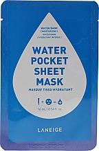 Fragrances, Perfumes, Cosmetics Moisturizing Face Sheet Mask - Laneige Water Pocket Sheet Mask Water Bank