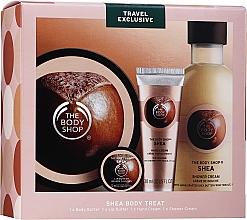 Set - The Body Shop Shea (b/but/200ml + lip/butter/10ml + h/cr/30ml + sh/cr/250ml) — photo N1