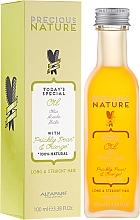 Fragrances, Perfumes, Cosmetics Straight & Long Hair Oil - Alfaparf Precious Nature Oil For Long & Straight
