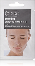 """Fragrances, Perfumes, Cosmetics Facial Mask """"Cleansing"""" with grey clay - Ziaja Face Mask"""