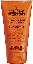 Fragrances, Perfumes, Cosmetics Tanning Cream - Collistar Smart Reshaping Tanning Cream SPF 15
