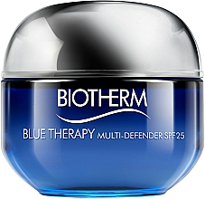 Fragrances, Perfumes, Cosmetics Face Cream for Normal to Combination Skin - Biotherm Blue Therapy Multi Defender SPF 25